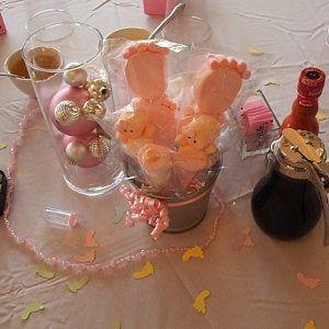 25 Little Feet Marshmallow Pops/Baby Shower