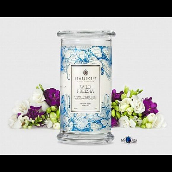 Wild Freesia Candle Jewelscent Candles Aroma Beads Argan Oil Soap