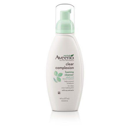 Aveeno Clear Complexion Foaming Facial Cleanser 6 Fl Oz