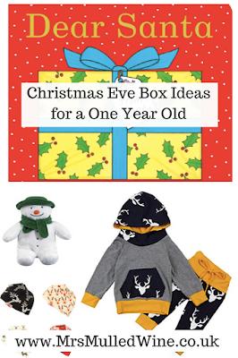Christmas Eve Box Ideas for a One Year Old | Christmas eve box