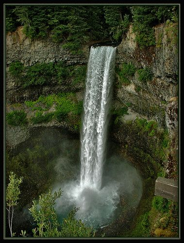 Brandywine Falls Park near Whistler, BC by Janusz Leszczynski