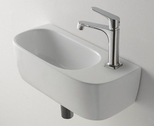 Waschbecken Fur Gaste Wc 50 Cm X 30 Cm Waschbecken Gaste Wc Waschbecken Badezimmer Waschbecken
