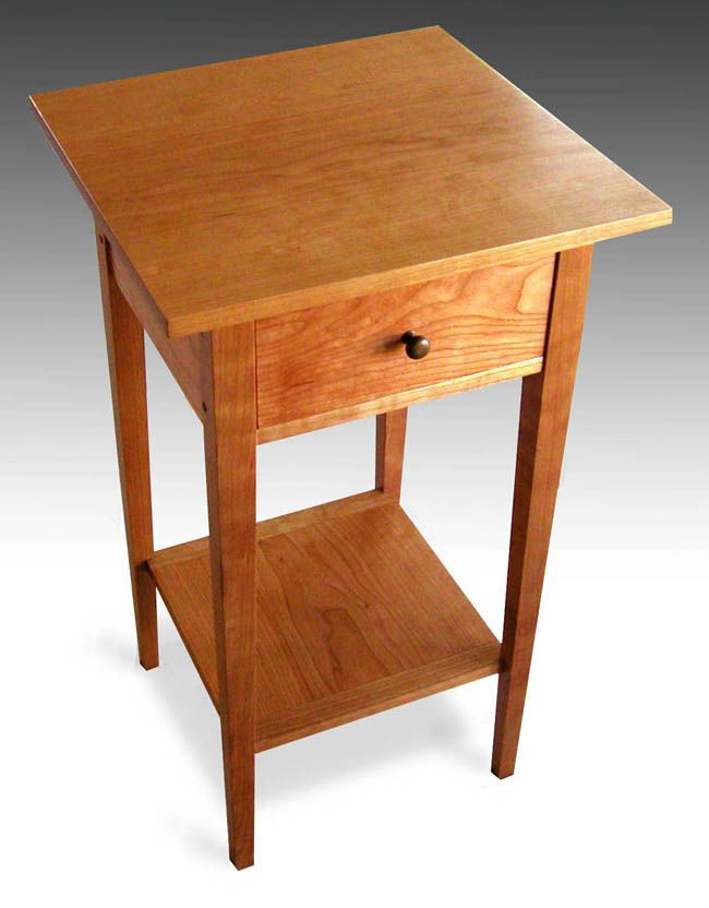 Superieur Shaker Furniture To Fit   Cherry End Table