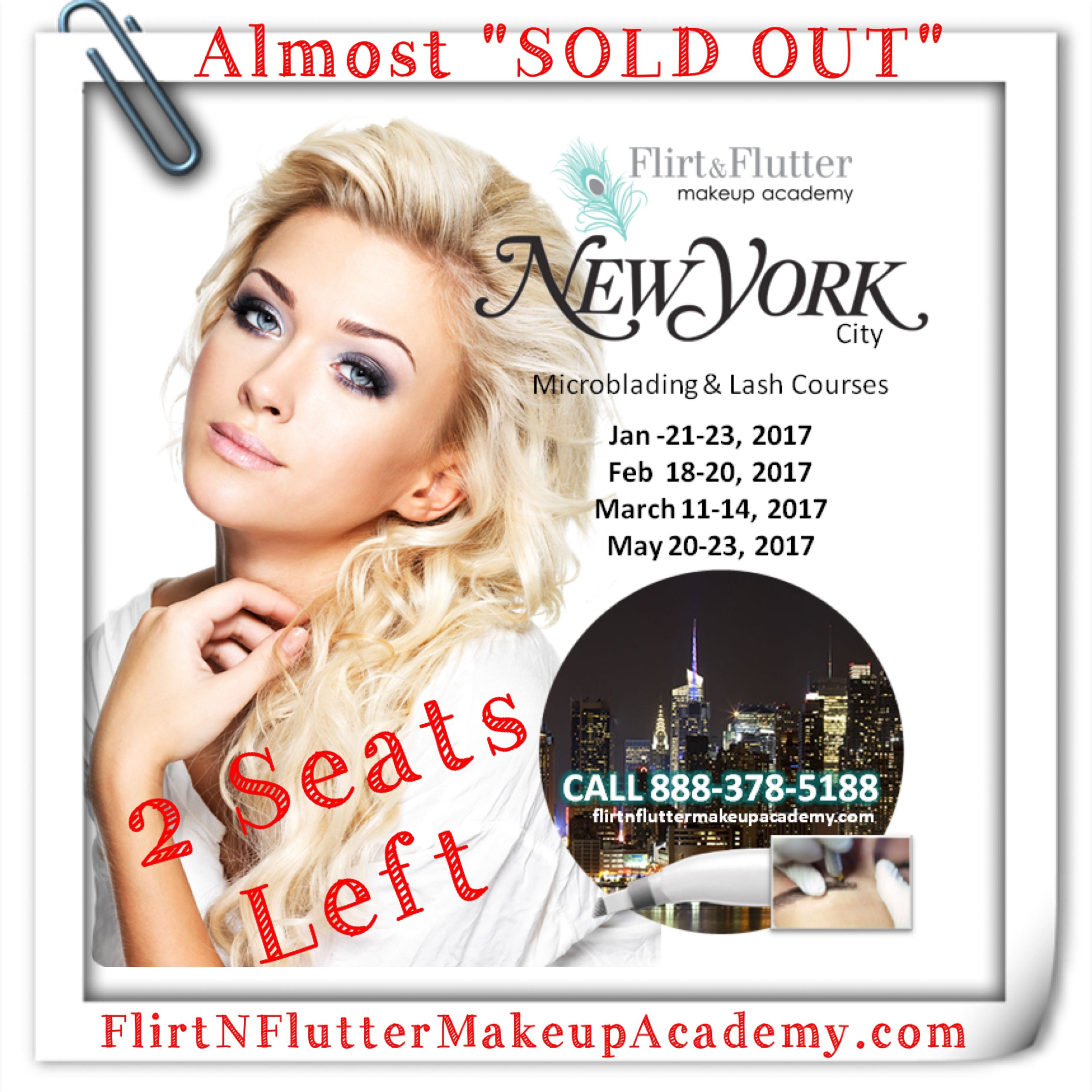 Pin by Flirt & Flutter Beauty on New York Microblading