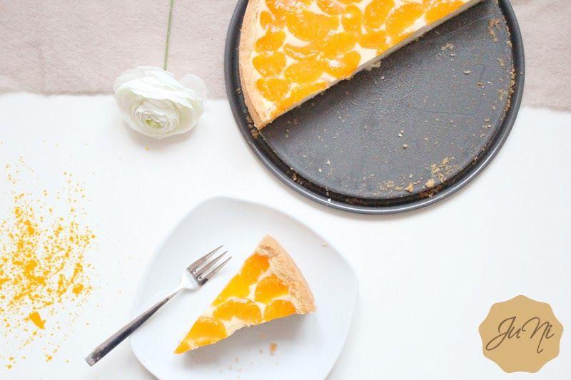 Mandarinen-Cheesecake #ichbacksmir #kaesekuchen