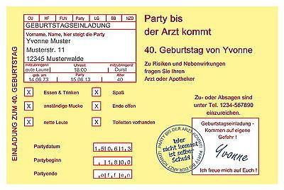 PDF Einladung 50. Geburtstag, Zum Ausdrucken | Einladung 50 Geburtstag,  50er Geburtstag Und Einladungen