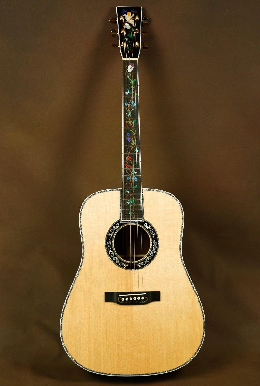 Martin D 45 Cherub Custom Masterpiece Acoustic Guitar Ebay