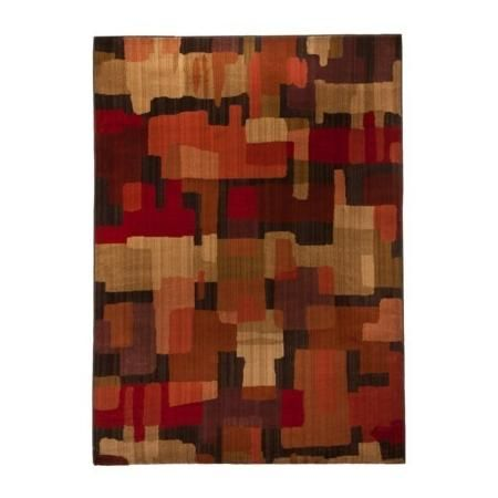 MOHAWK HOME Blocks Area Rug - Red (5'x7')