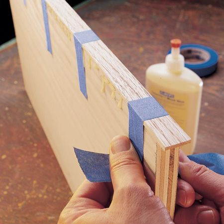 If You Have The Right Tools It S Easy To Make Your Own Edge Banding For Finishing Off Plywood Projects Thin Strips Of Wood Can Be Cut Fit Along