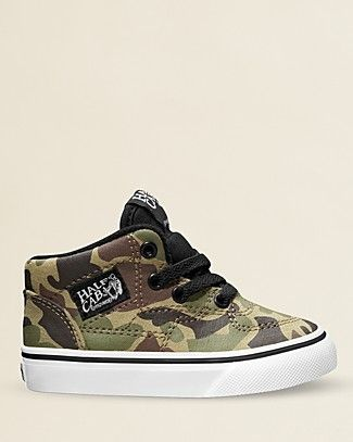 f9652cef67 Vans Boys  High-top Camouflage Sneakers - Walker