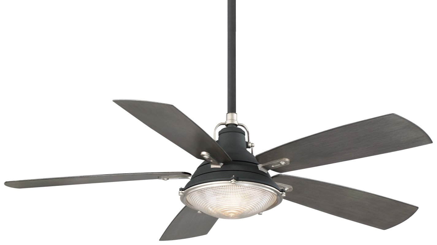 Minkaaire Groton 56 5 Blade Indoor Outdoor Ceiling Fan With Blades Hand Held Sand Black Weathered Steel Fans Ceiling Fans Outdoor Ceiling Fans Ceiling Fan Outdoor Ceiling Fans Ceiling