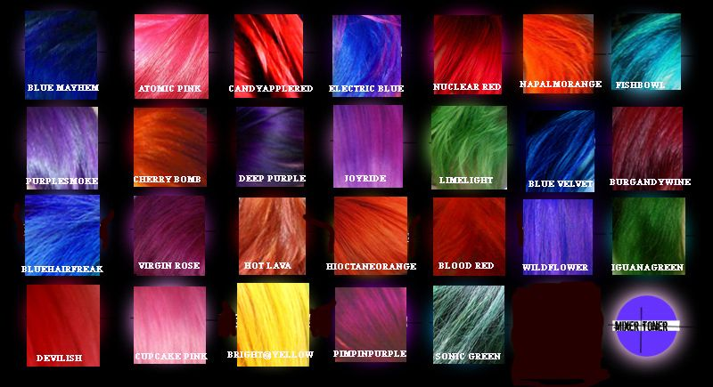 Special Effects Hair Dye Deep Purple Pictures And Reviews