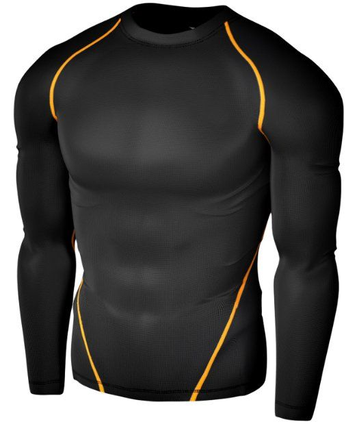 Compression & Base Layers Clothing, Shoes & Accessories Hearty Mens Compression Armour Base Layer Top Half Sleeve Thermal Gym Sports Shirt