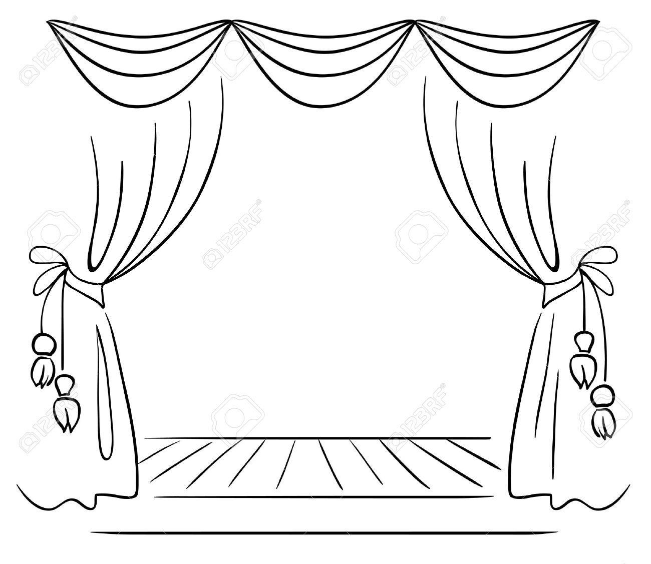 Resultado de imagen para teatro dibujo | teatro | Theatre stage