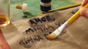 Tinta Invisivel Com Amido De Milho E Tintura De Iodo Atividades