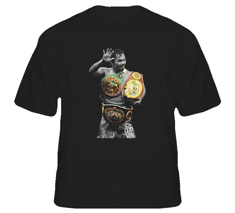 3a3ce9f19606 Manny Pacquiao Filipino Champion Boxing T Shirt