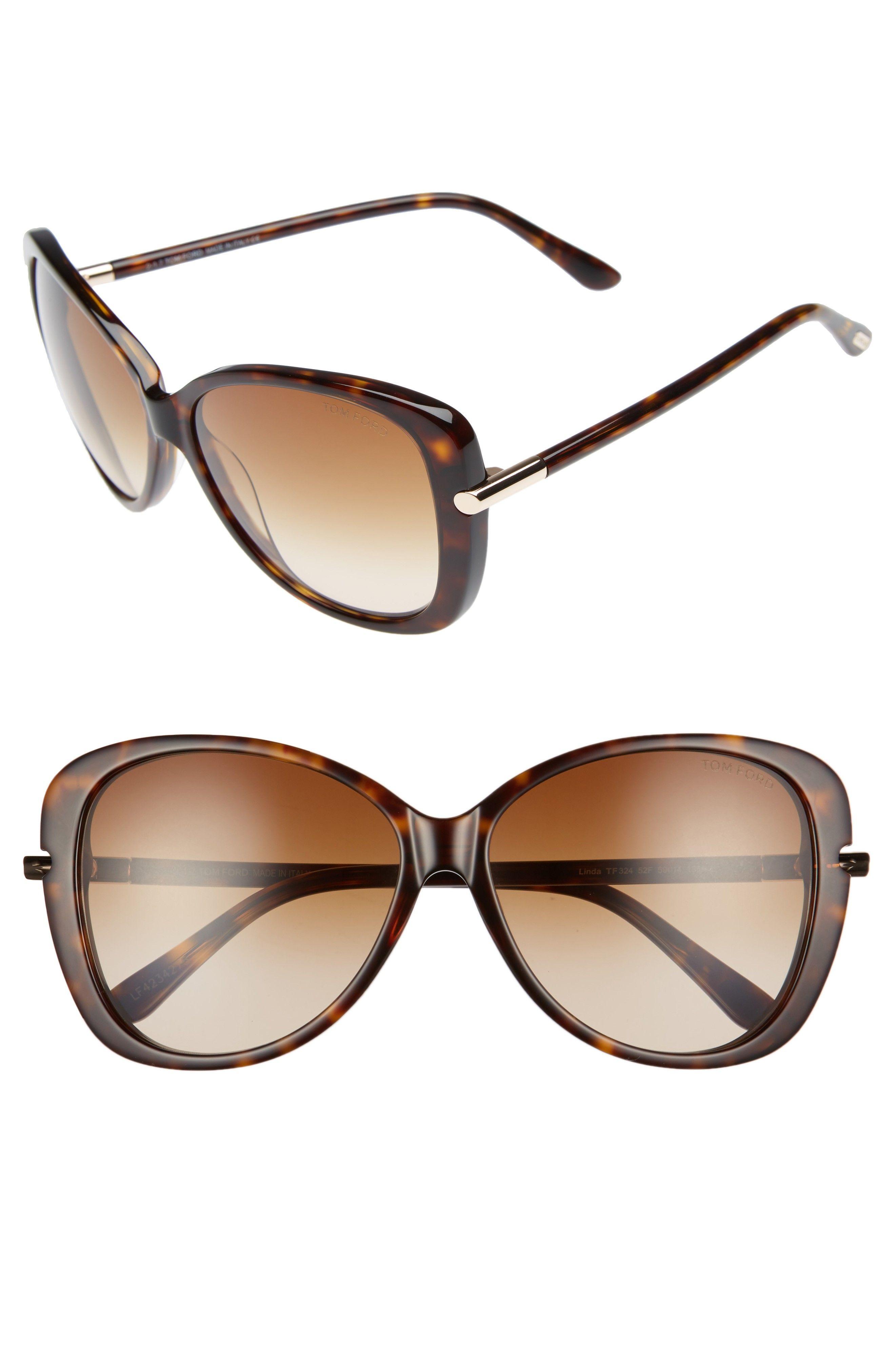0f0da6b274 Tom Ford Linda 59mm Gradient Butterfly Sunglasses Nordstrom Anniversary  Sale 2017