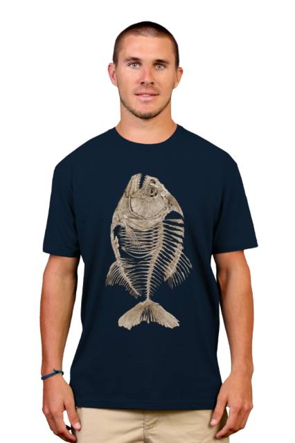 9f55acd36f981 Bony Piranha T-Shirt Camisetas Estampadas