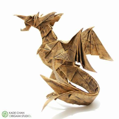 Awesome Origami Chinese Dragon Kade Chan Best Photos For World