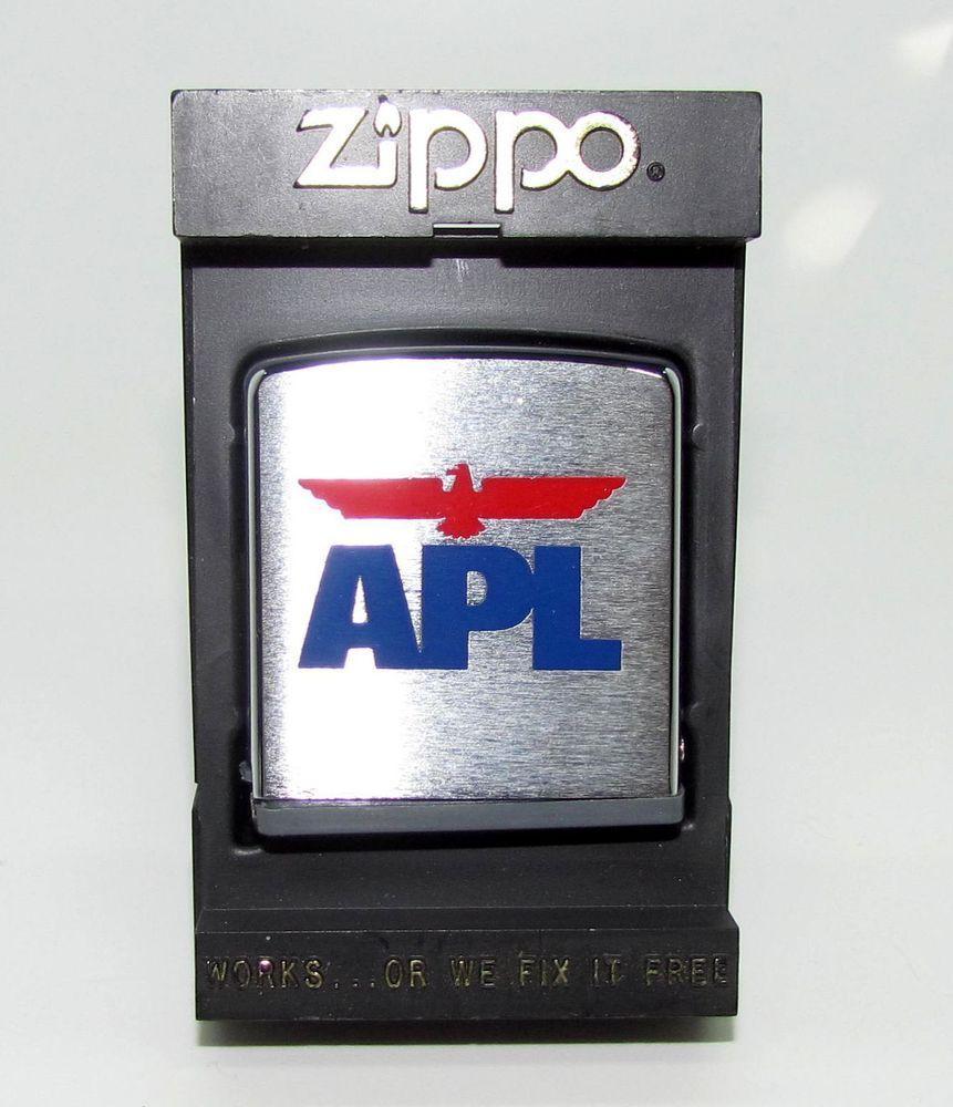 "Vintage Zippo Brushed Chrome 78"" Tape Measure Rule APL"