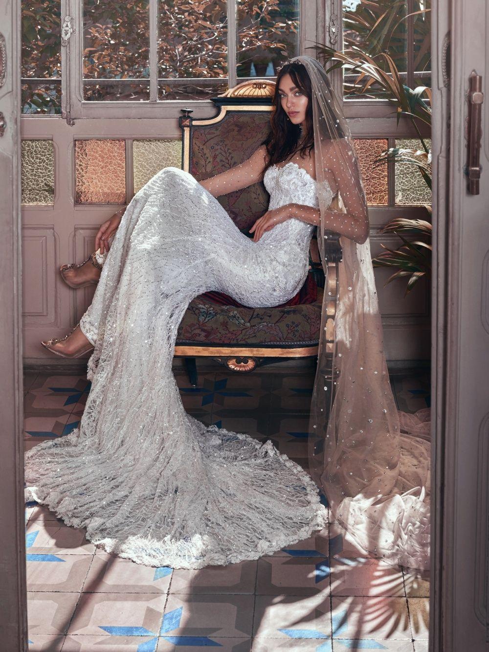 Galia lahav lança sua coleção de vestidos de noiva para