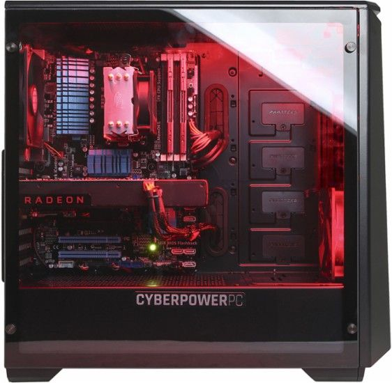 CyberPowerPC - Gamer Ultra Desktop - AMD FX Black Edition