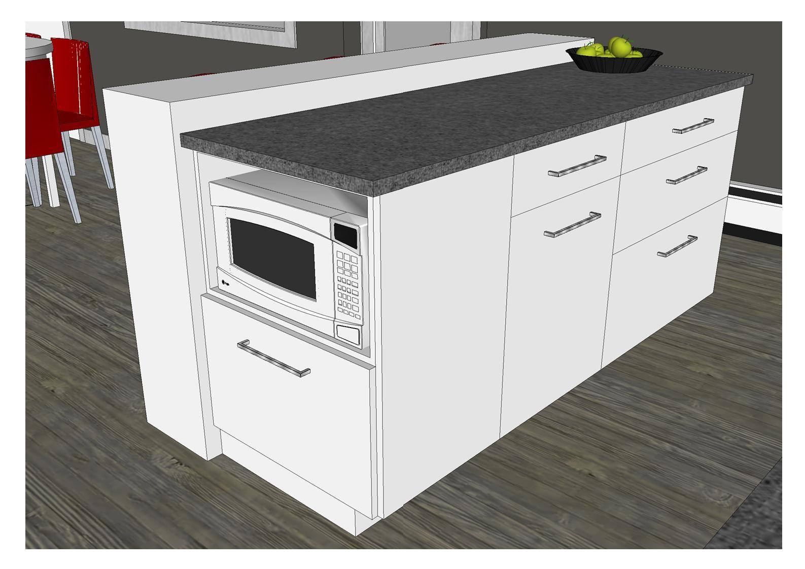0112 am nagement cuisine style contemporain armoires. Black Bedroom Furniture Sets. Home Design Ideas