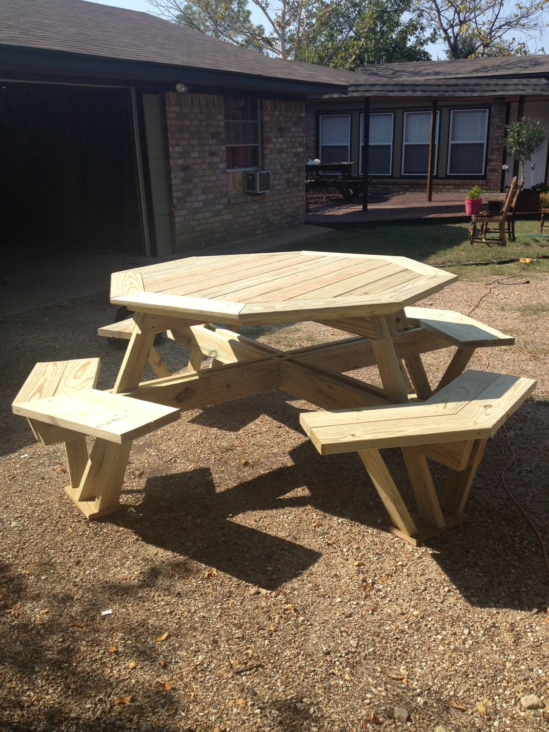 Custom Built Picnic Table. 500.00 In 2019 Table Diy
