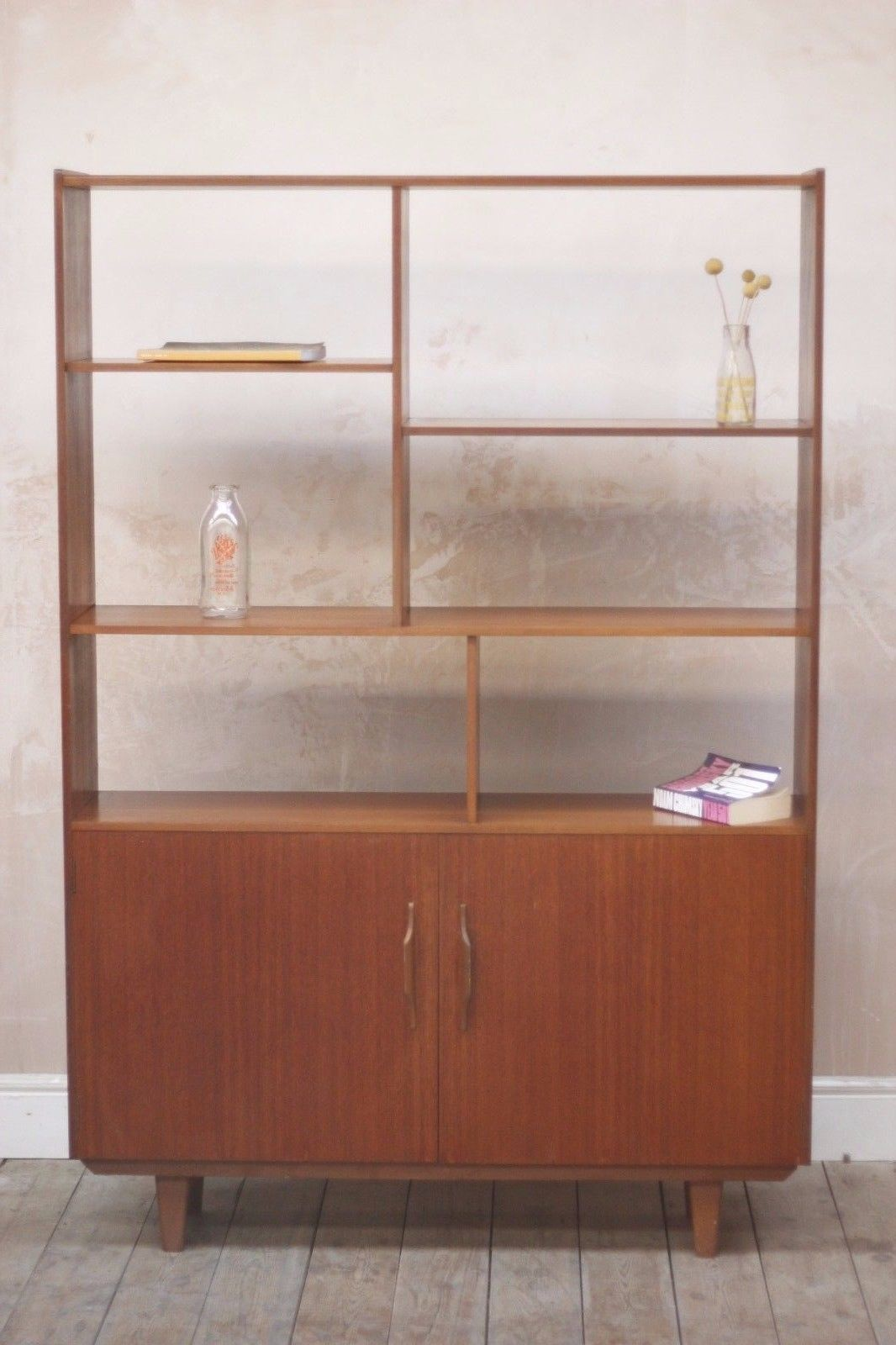 Large teak room divider in really good vintage condition that would