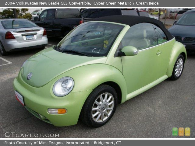 Cyber Green Metallic 2004 Volkswagen New Beetle Gls Convertible Couldn T Fit The Baby S Car Seat In It