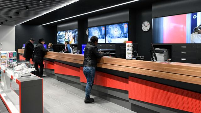 La nouvelle gare de Zurich-Oerlikon inaugurée