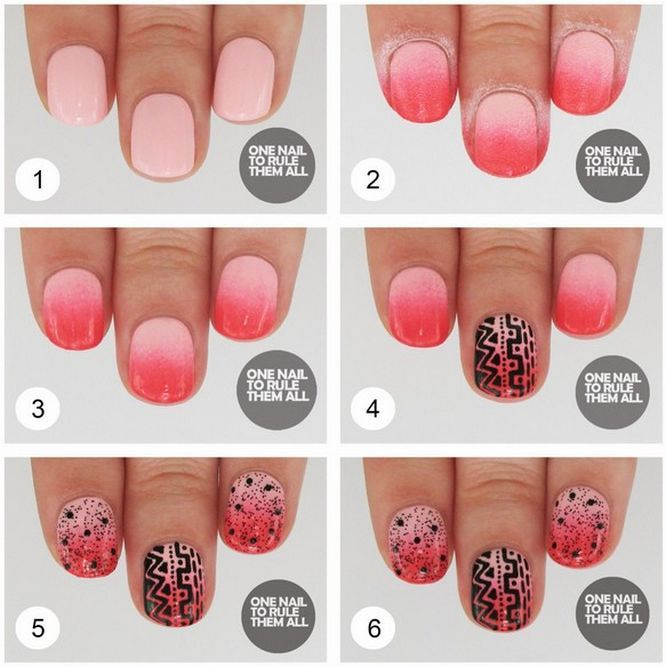 Find here the new and latest nail art designs for beginners step by ...