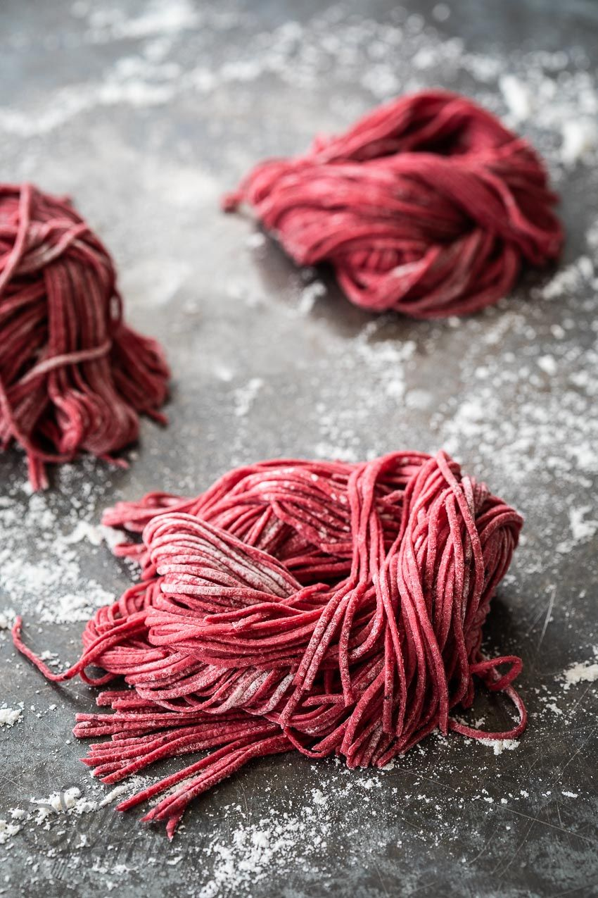 How To Make Beetroot Pasta Recipe Beetroot Red Pasta How To Make Red