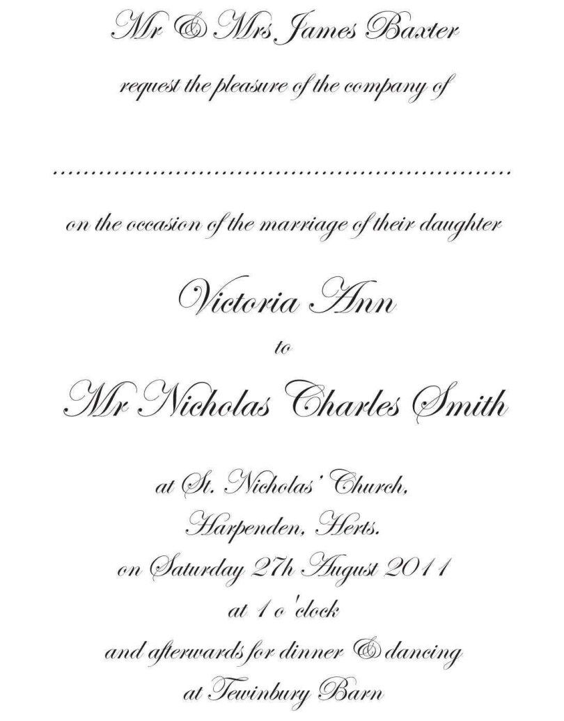 Traditional Wedding Invitations Wedding Invitation Wording Formal Traditional Wedding Invitation Wording