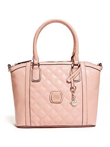 Guess Women S Maxton Glazed Logo Satchel Handbag