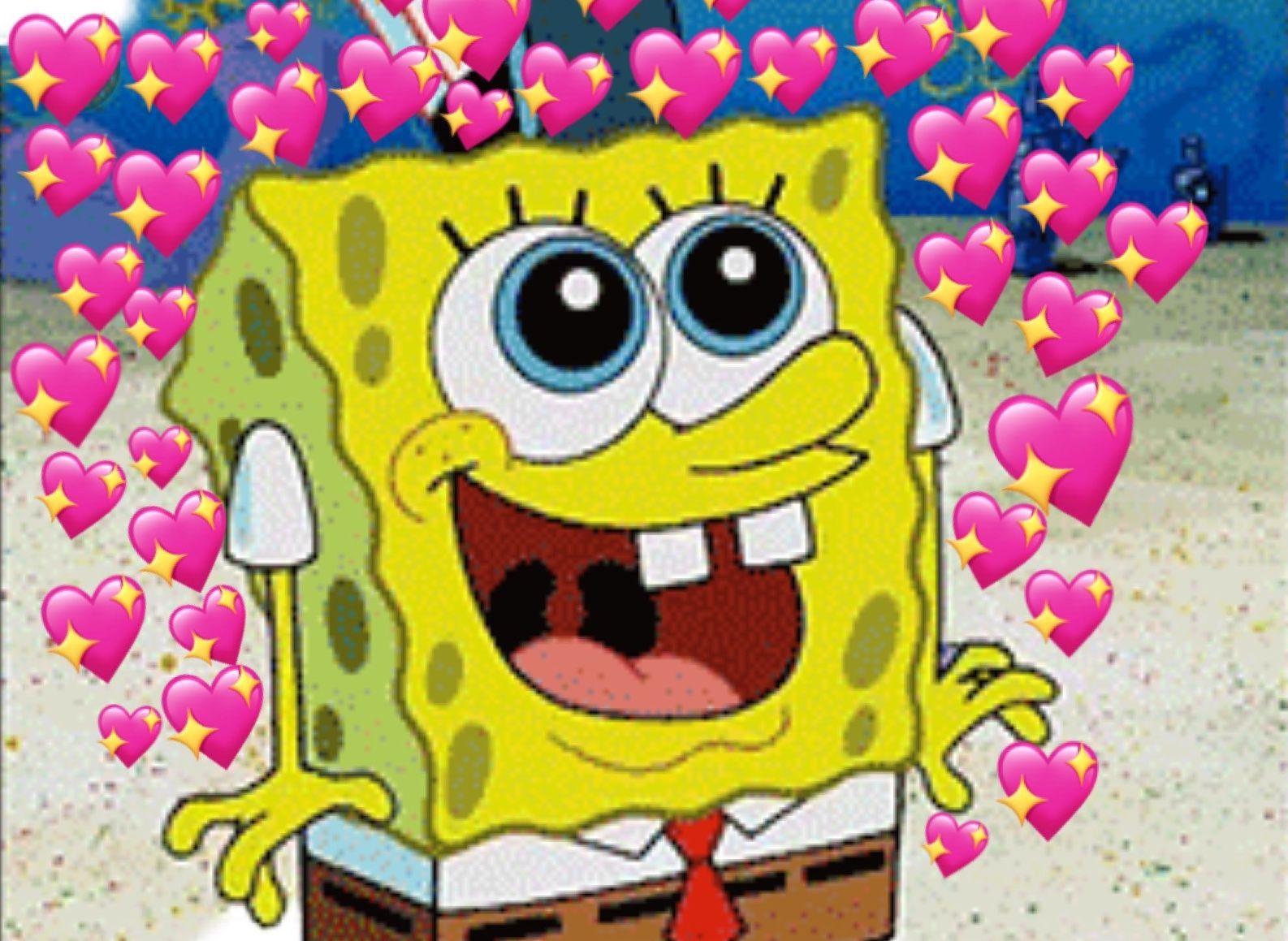 Aesthetic Spongebob Squarepants Loveeeeeee Yellow Mood Smile Spongebob Wallpaper Spongebob Spongebob Drawings