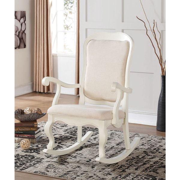die besten 25 white wooden rocking chair ideen auf pinterest holzschaukelst hle. Black Bedroom Furniture Sets. Home Design Ideas