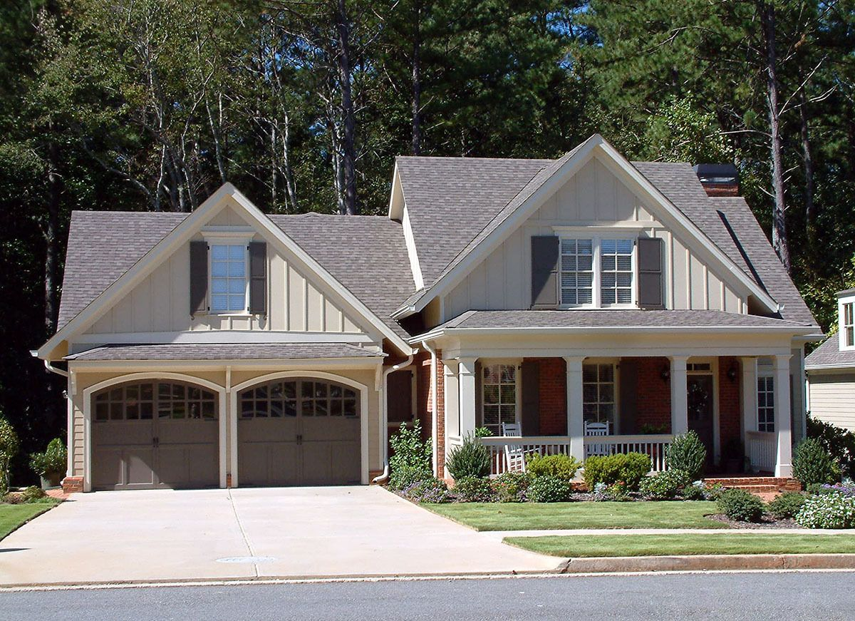 Beautiful First Floor Master   70007CW | Architectural Designs   House Plans