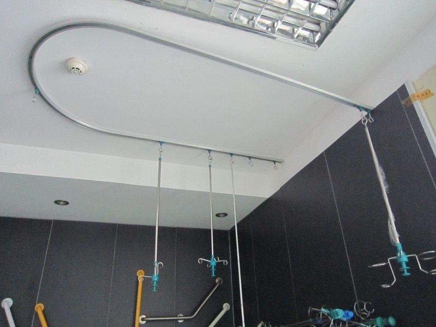 Aluminium Ceiling Mounted Folding Iv Pole Drip Bar