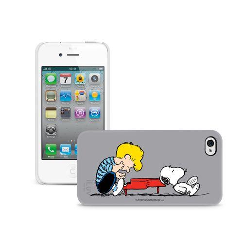 Schroeder & Snoopy iPhone Case