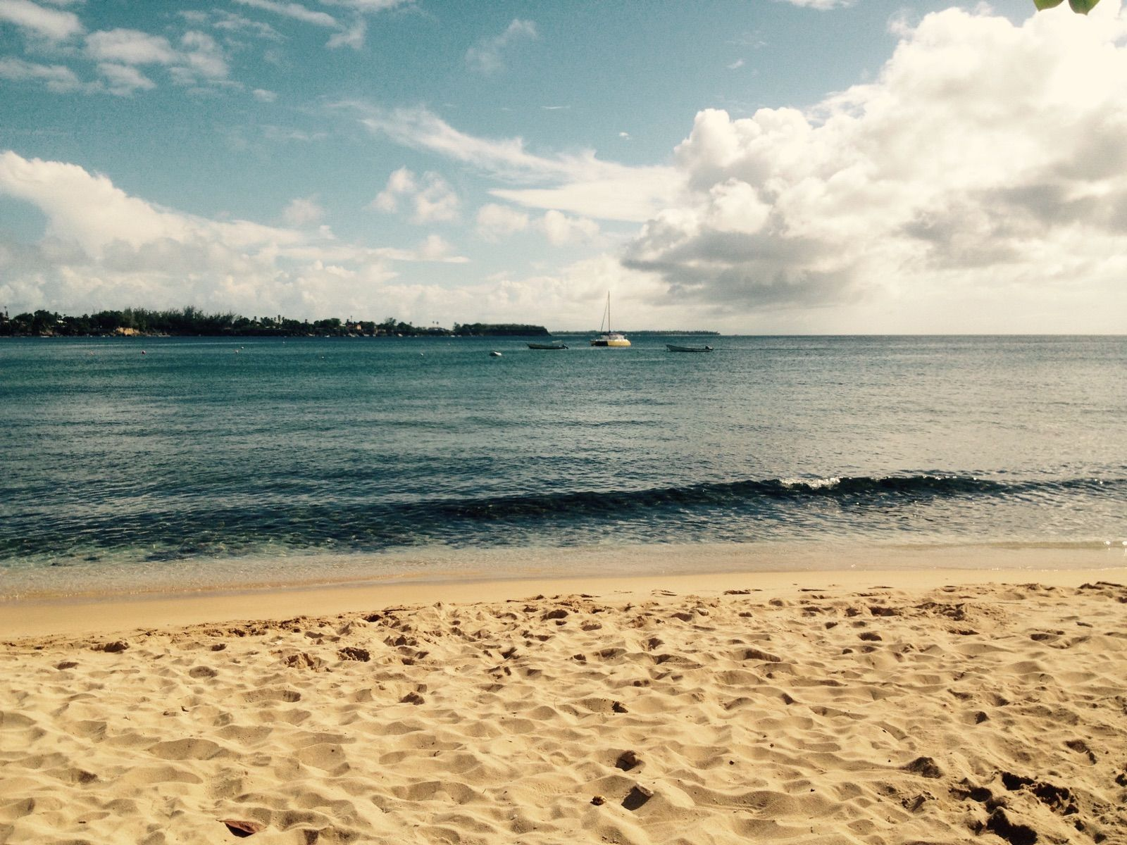 Store bay Beach Tobago beautiful beach perfect beach for jet skiing and tours to buccoo reef and nylon pool