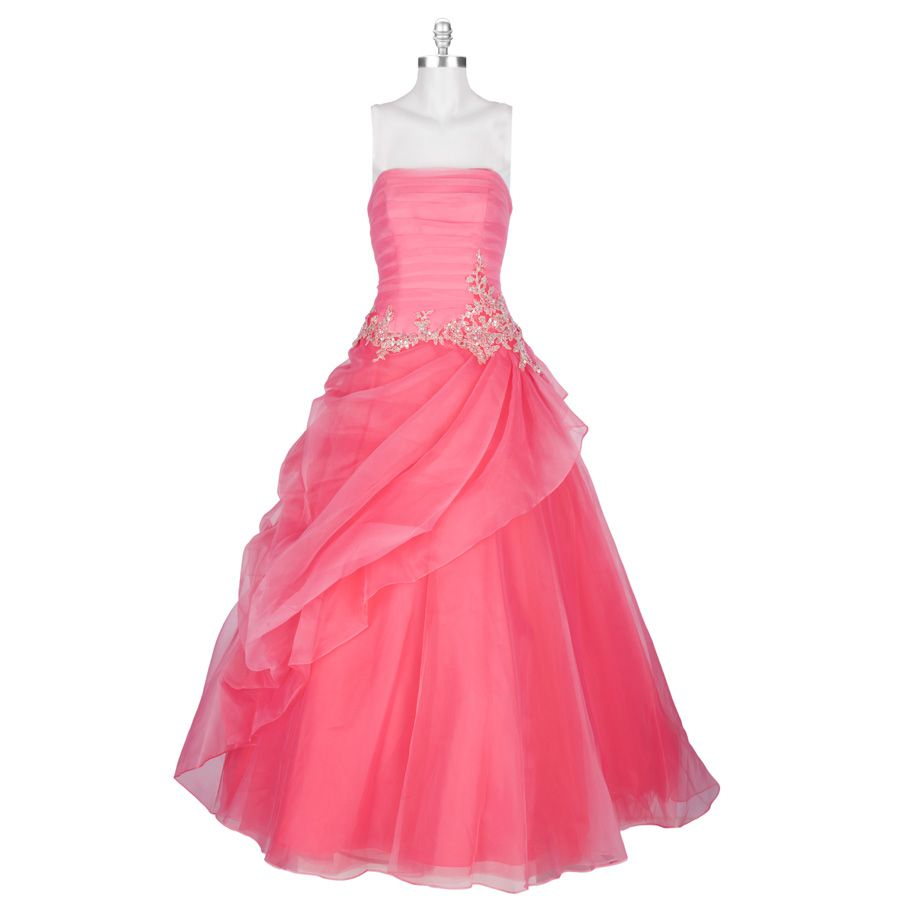 Alfred Angelo Juniors Disney Royal Ball Embroidered Gown with Shawl ...
