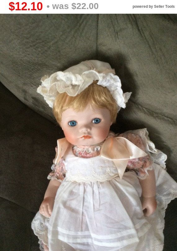 store closing vintage moveable porcelain doll collector by emtwtt