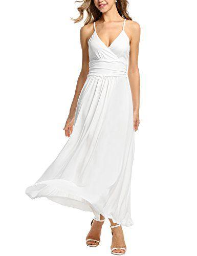 47+ Long white spaghetti strap dress ideas