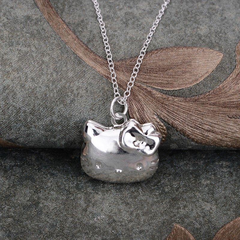 Monili di modo della collana placcato argento 925 gioielli in argento pandant gptnrnrb