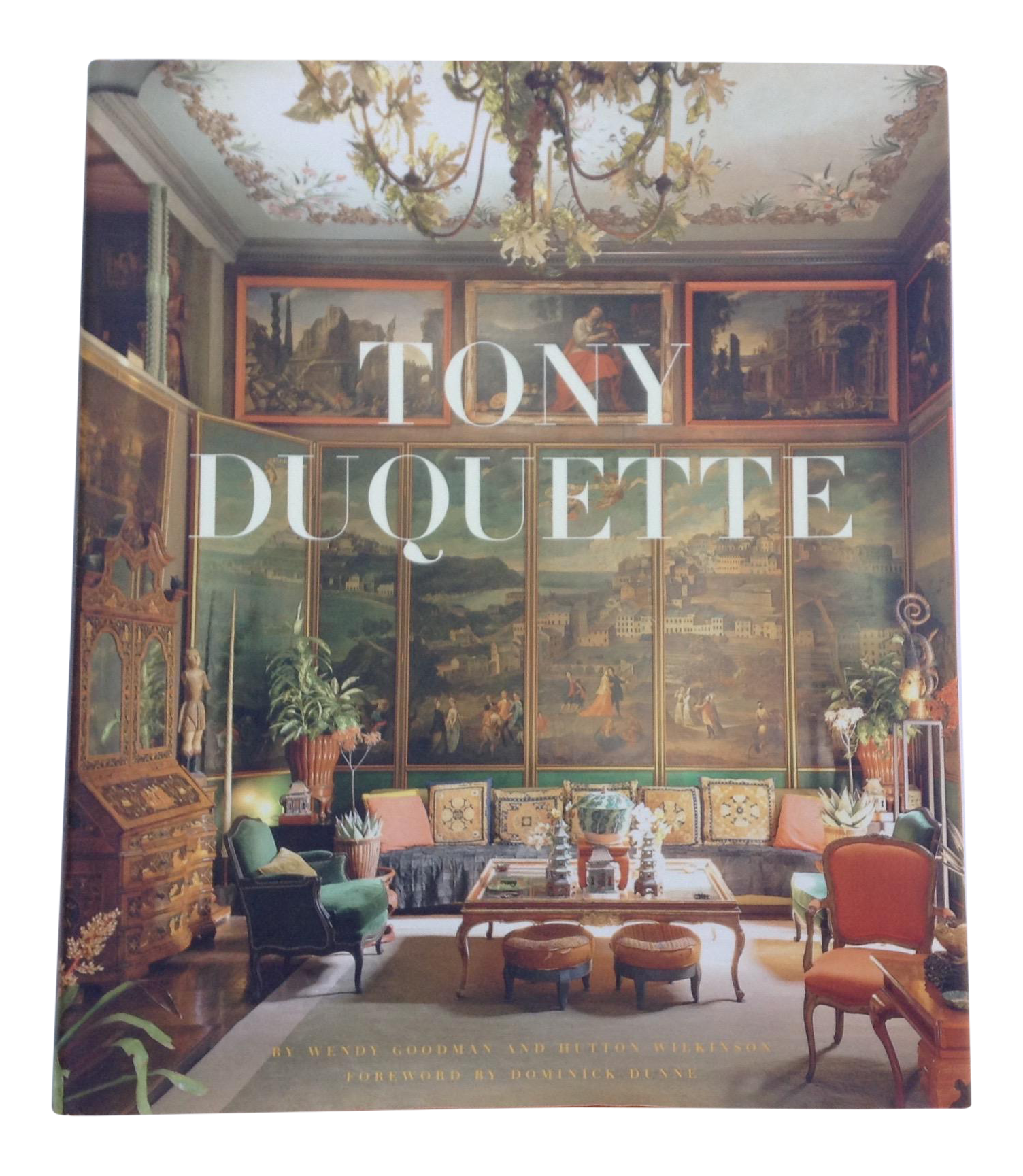 Tony Duquette Hardcover Coffee Table Book
