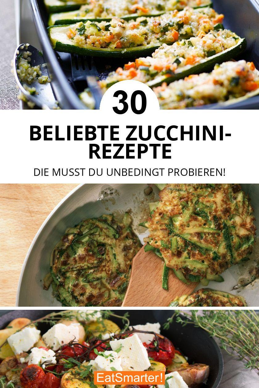 Unsere TOP 30 Zucchini-Rezepte