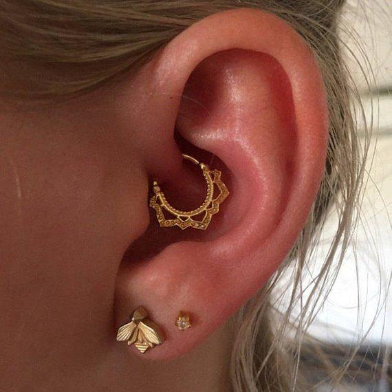 bar boucles d/'oreilles star forme tragus boucles d/'oreilles le cartilage helix