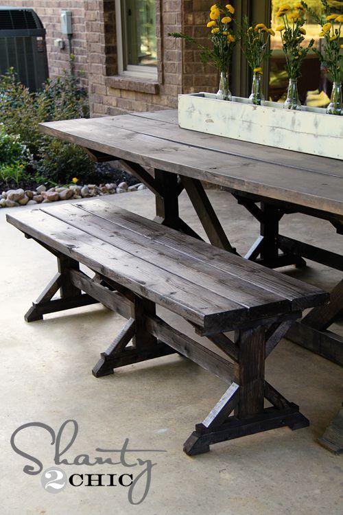 25++ Farmhouse picnic table ideas