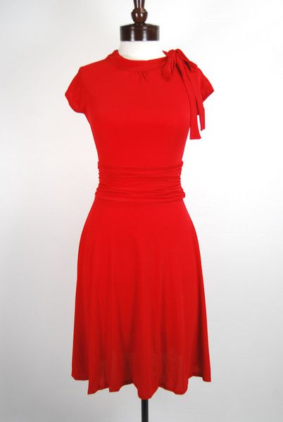 The Babylon Dress - Red | Retro, Retro dress and Vintage trends